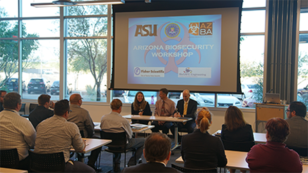 ASU EHS hosts biosecurity workshop at SkySong