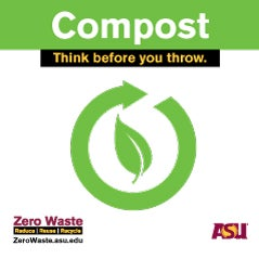 graphic image of compost label