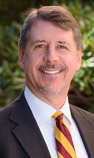 Photo of Morgan R. Olsen, Executive Vice President and CFO.