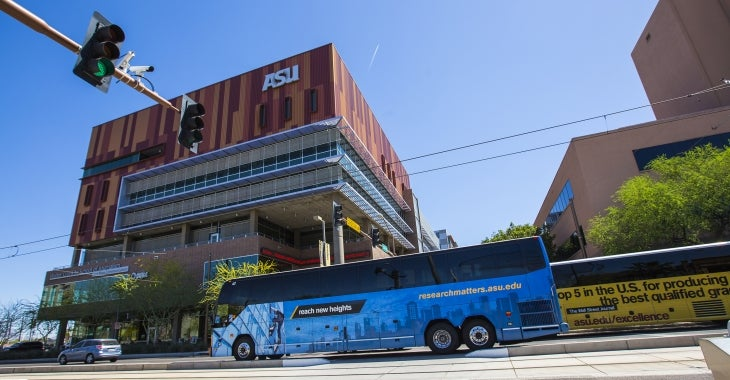 Campus Shuttles | Business and Finance